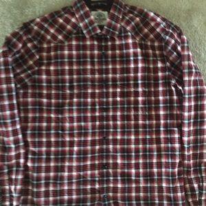 Express casual dress shirt button up down Sz M